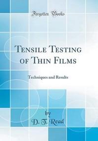 [해외]Tensile Testing of Thin Films