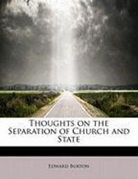 [해외]Thoughts on the Separation of Church and State (Paperback)