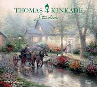 [해외]Thomas Kinkade Studios 2021 Deluxe Wall Calendar