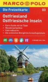 MARCO POLO Freizeitkarte 03 Ostfriesland / Ostfriesische Inseln 1 : 100 000