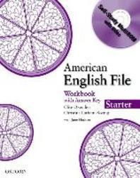 American English File Starter : Workbook with Answer Key (Book & CD)