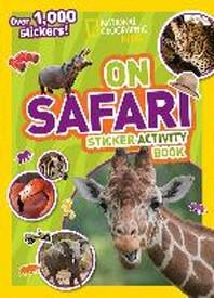 [해외]National Geographic Kids on Safari Sticker Activity Book