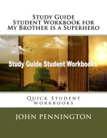 [해외]Study Guide Student Workbook for My Brother is a Superhero (Paperback)