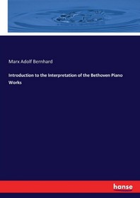 [해외]Introduction to the Interpretation of the Bethoven Piano Works