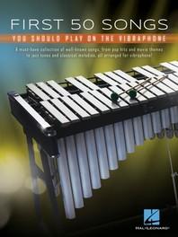 [해외]First 50 Songs You Should Play on Vibraphone (Paperback)
