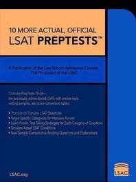 10 More, Actual Official LSAT Preptests