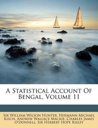 [해외]A Statistical Account of Bengal, Volume 11 (Paperback)