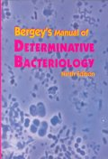 Bergey's Manual of Determinative Bacteriology