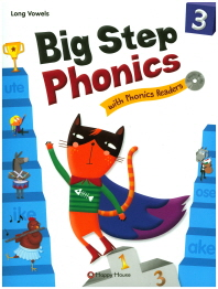 Big Step Phonics with Phonics Readers. 3(CD2장포함)