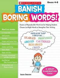 [해외]Banish Boring Words!, Grades 4-8