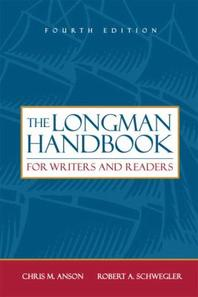 Longman Handbook For Writers And Readers