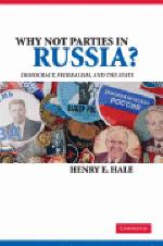 [해외]Why Not Parties in Russia? (Paperback)