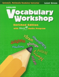 Vocabulary Workshop Level Green (Grade 3) Student Edition
