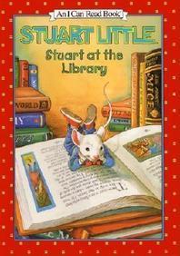 Stuart Little Stuart at the Library
