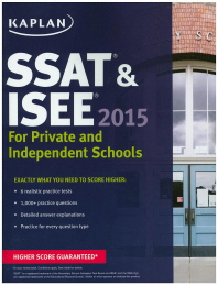 Kaplan SSAT & ISEE for Private and Independent School Admissions