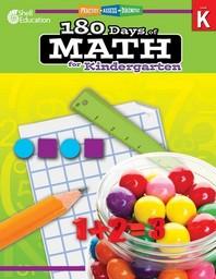 [해외]180 Days of Math for Kindergarten (Grade K)
