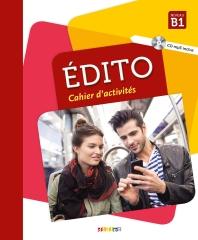 Edito niv.b1 (ed. 2018) - cahier + CD