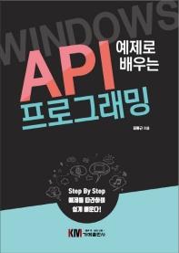 예제로 배우는 Windows API 프로그래밍