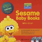 SESAME BABY BOOKS SET. 2: 감각놀이(CD1장, DVD1장포함)(전4권)