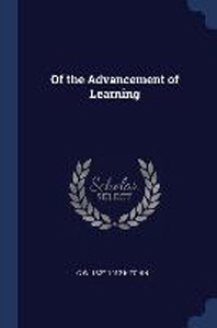 Of the Advancement of Learning
