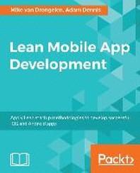 [해외]Lean Mobile App Development (Paperback)