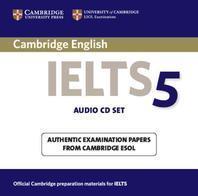 Cambridge IELTS 5(AUDIO CD SET)(CD 2장)