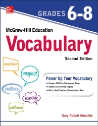[해외]McGraw-Hill Education Vocabulary Grades 6-8, Second Edition
