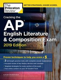 Cracking the AP English Literature & Composition Exam(2019)