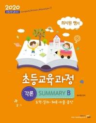 초등교육과정 각론 Summary B(2020)(최시원 쌤의)