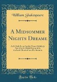 [해외]A Midsommer Nights Dreame (Hardcover)