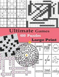 [해외]Ultimate Games 400 Puzzles Large Print