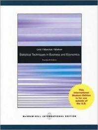 Statistical Techniques in Business and Economics 14/E: with CD-ROM #