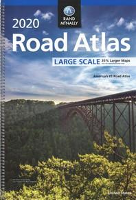 [해외]Rand McNally 2020 Road Atlas Large Scale (Paperback)