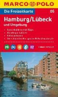 MARCO POLO Freizeitkarte 05 Hamburg / Luebeck und Umgebung 1 : 100 000