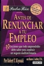 [해외]Antes de Renunciar A Tu Empleo (Paperback)