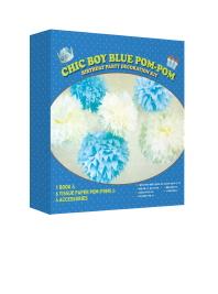 종이로 만드는 특별한 생일파티 장식 키트: 남자아이 생일파티 편
