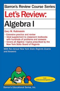 Let's Review: Algebra. 1
