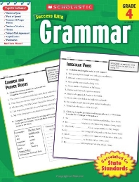 Grammar, Grade 4 (Scholastic Success with Workbooks: Grammar)