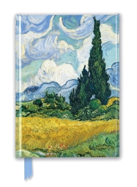 Van Gogh Wheat Field with Cypresses (Foiled Journal)