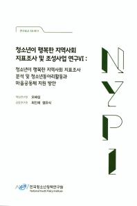 청소년이 행복한 지역사회 지표조사 및 조성사업 연구. 6(연구보고 18-R11)