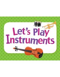 생활 영어 단어 카드 - 명사편 24. Let's Play Instruments