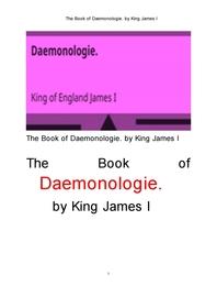 제임스1세왕의 귀신론 악령학.The Book of Daemonologie. by King James I