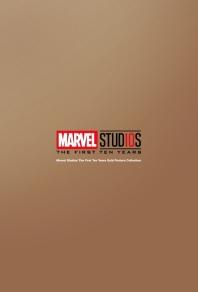 마블 스튜디오 10주년 기념 골드 포스터 마스터 컬렉션세트(30장)(한정판)