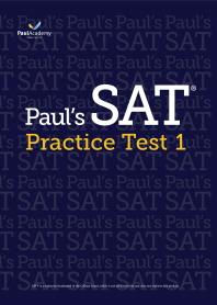 Paul's SAT Practice Test. 1
