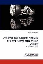[해외]Dynamic and Control Analysis of Semi-Active Suspension System