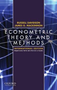 [해외]Econometric Theory and Methods