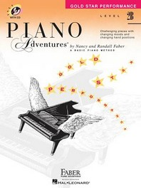 Piano Adventures, Level 2B, Gold Star Performance [With CD (Audio)]