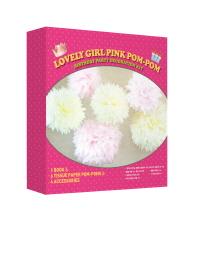 종이로 만드는 특별한 생일파티 장식 키트: 여자아이 생일파티 편