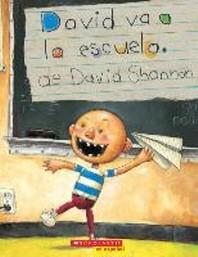 [해외]David Va a la Escuela (David Goes to School) (Paperback)
