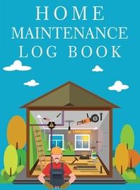 [해외]Home Maintenance Log Book